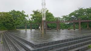 梅雨のさくら公園