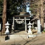 おゆみ野日枝神社の鳥居