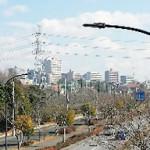 鎌取駅周辺のビル群